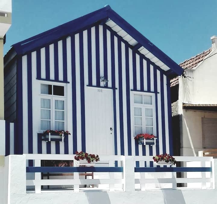 Costa Nova typical house wood