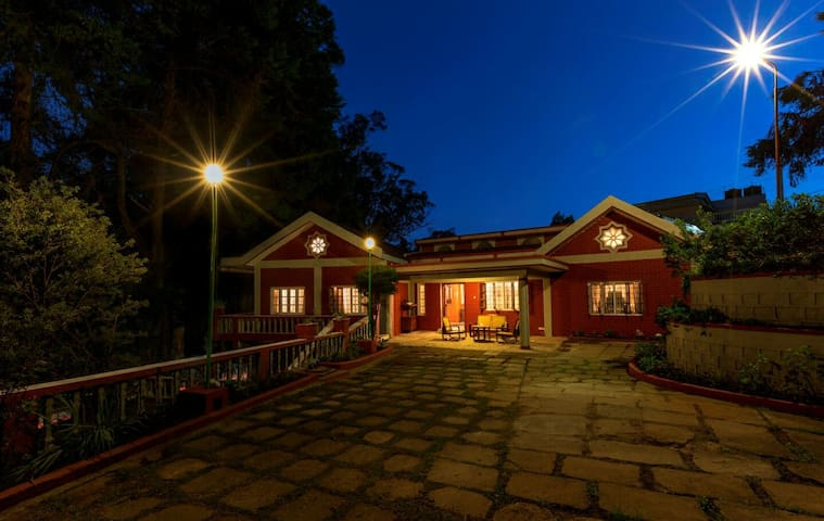 The Red House, Fernhill - Ooty (Twin)
