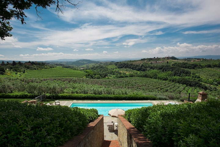 Villa La  Fornace Under the Tuscan Sun, with pool