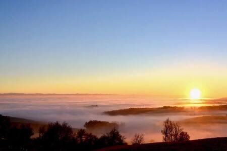 Le havre aux cimes avec vue panoramique