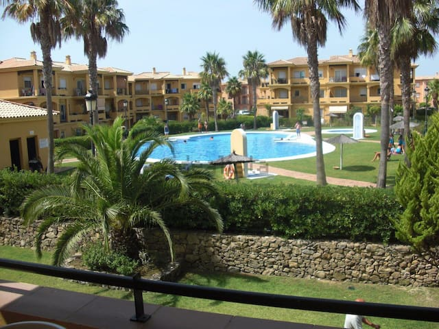 Novo Santi Petri with pool and wifi - Chiclana de la Frontera