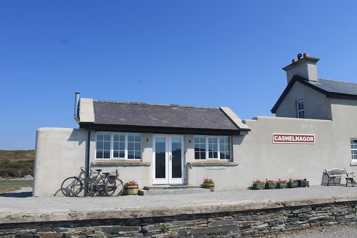 The Waiting Room @ Cashelnagor Railway Station