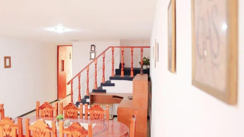 Linda casa, cómoda y espaciosa al sur de Puebla