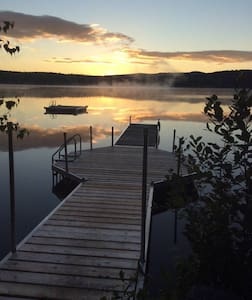 Lakeside get-away on Canaan St Lake - Canaan - Rumah