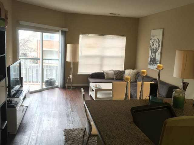 1 Bedroom Apt in Fort Lee, NJ (Close to Manhattan) - Fort Lee - Wohnung