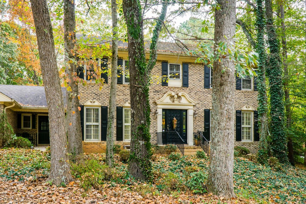 Highlands Homestead is an acre of woodlands nestled in Stone Mountain forest.