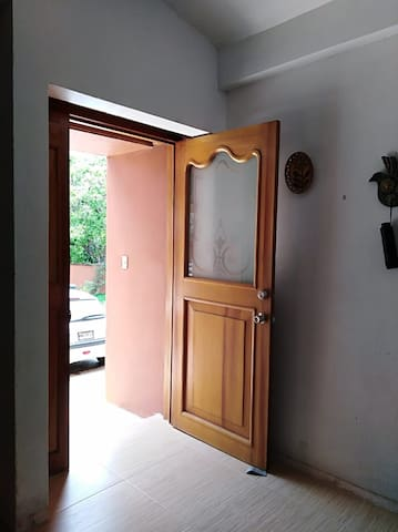 Apartment's entrance door