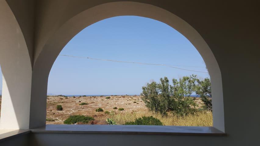 Vista dalla veranda