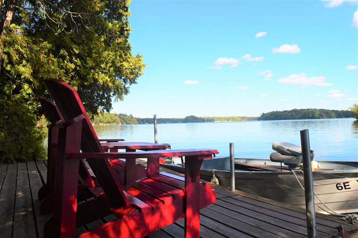 Island Family Getaway on The Rideau Waterway