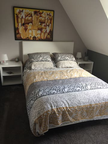 Bedroom in private house - Neufchâtel-Hardelot - Haus