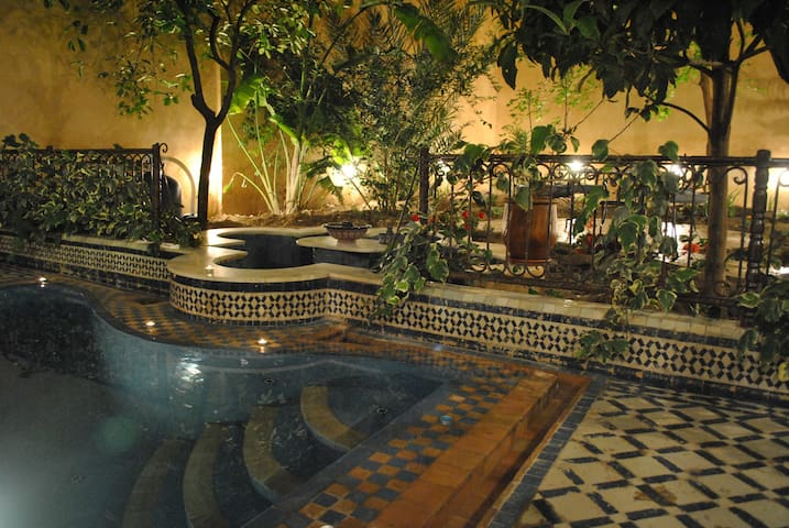 Double Room - with plunge pool and garden