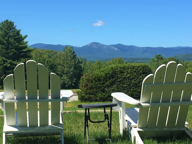 Nice spot to enjoy the view and fresh Maine air.