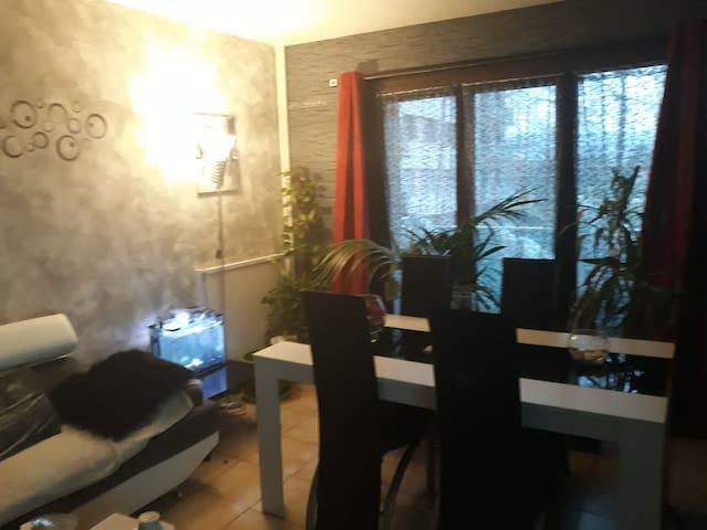 Appartement entre Chamonix et Annecy.