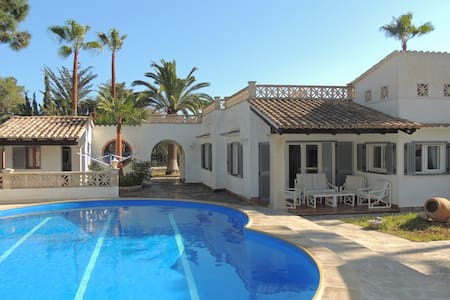 Lovely villa with private pool in Cala Murada - Cala Murada - Casa de camp
