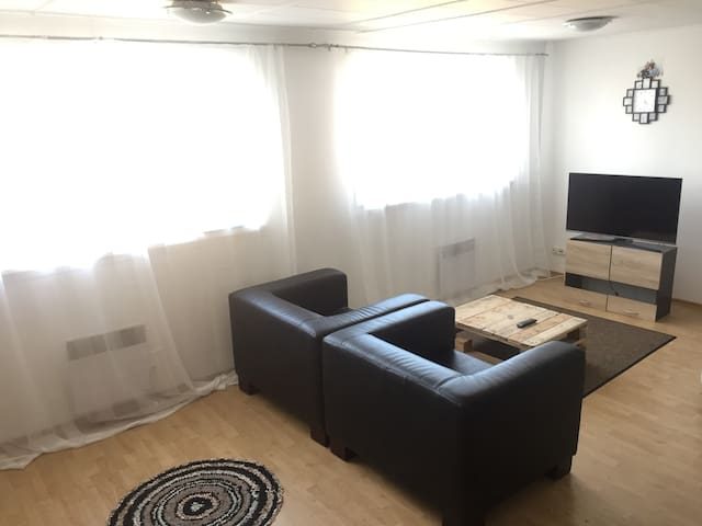 Nice studio apartment in downtown with parking - Tartu - Apartemen