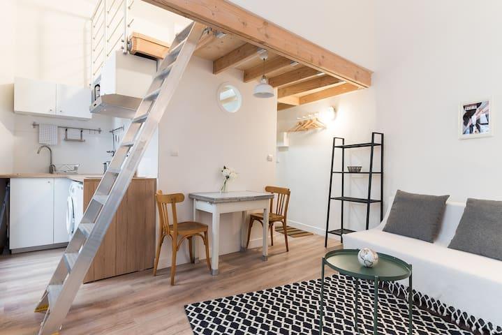"""""""L'Escale"""" agréable loft centre historique"""