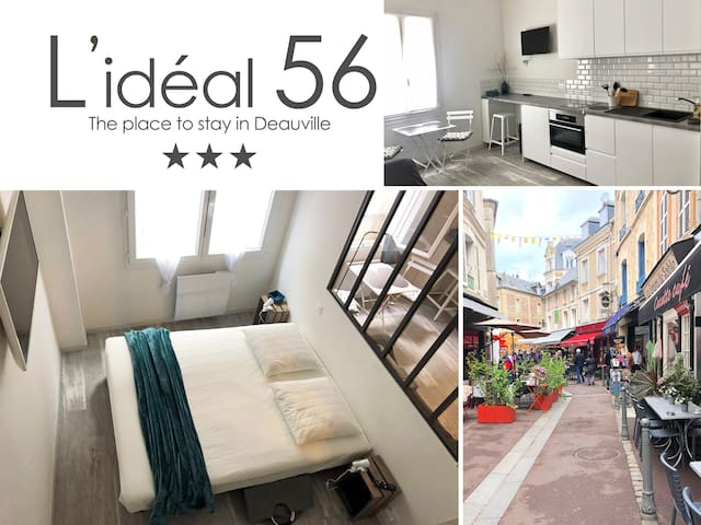 L'IDEAL 56 Trouville (casino & plage < 300m)