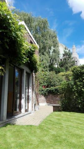 Chambre/Studio avec SDB privée - Liège - บ้าน