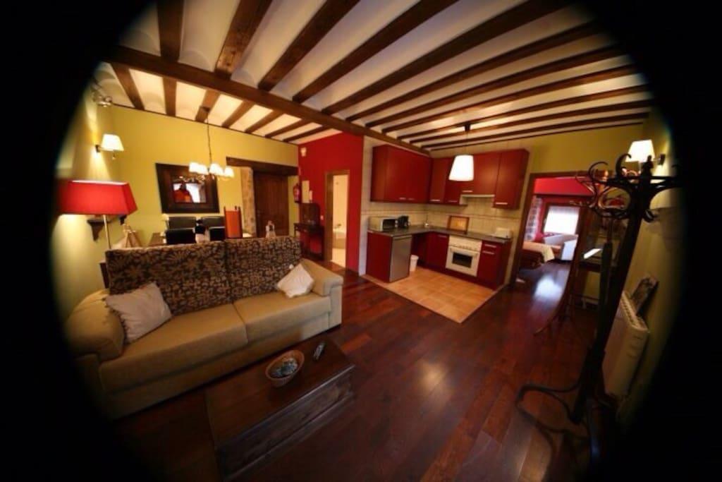 Apartamento con encanto siglo xvi apartments for rent in - Hoteles con encanto siguenza ...