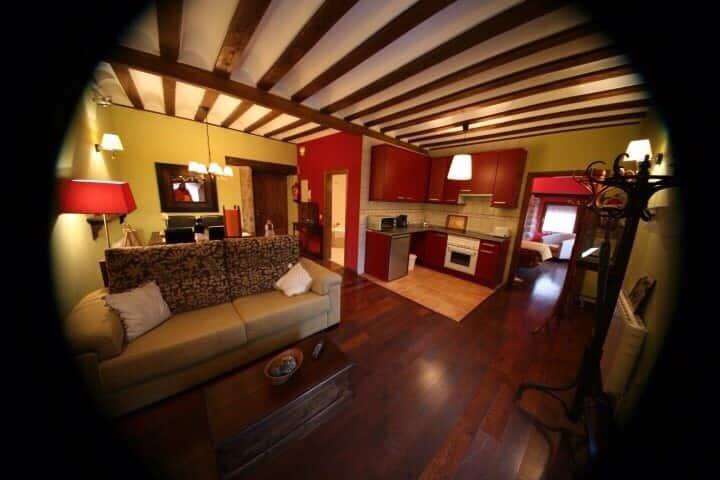 Apartamento con encanto siglo XVI con jacuzzi.