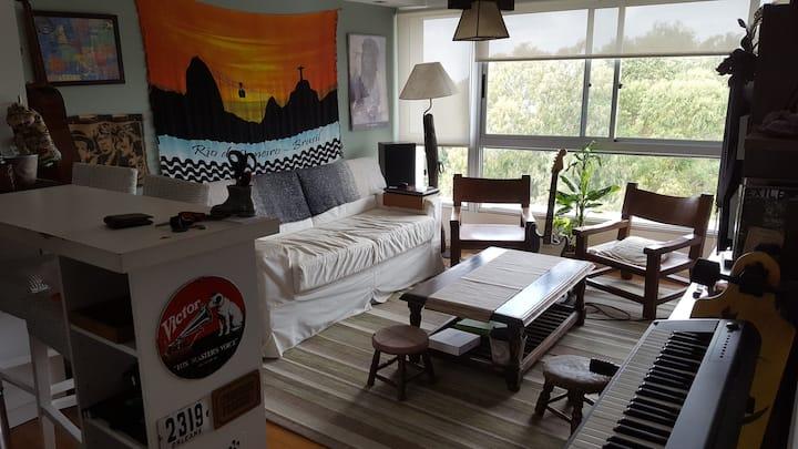 Habitacion privada extraordinario complejo LATU
