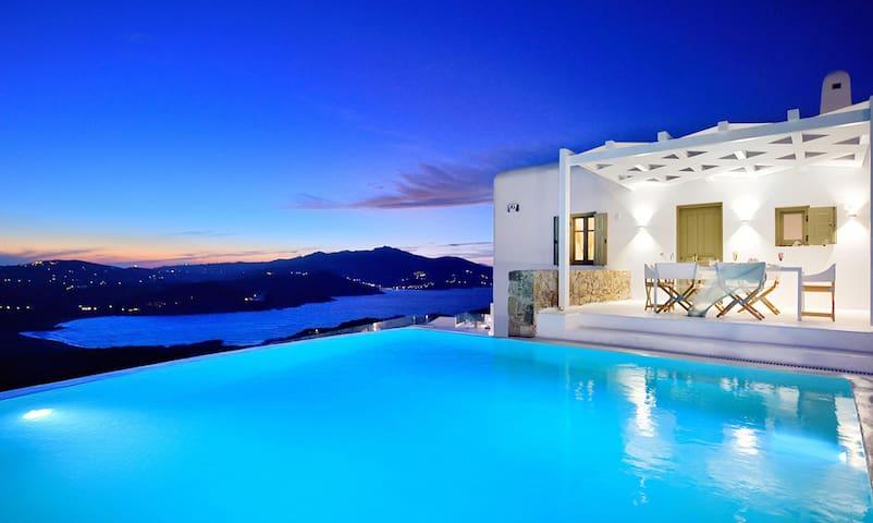 Infinity Pool Villa by Mykonos ArkVillas - Mykonos - Haus