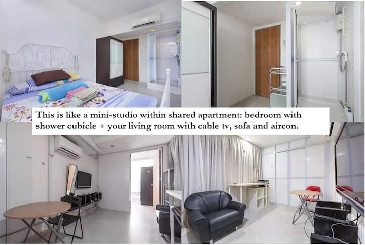kAweSome Ensuite 1+1 @ CBD/Chinatown NoWin DL