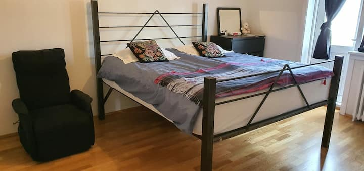Double room in the heart of Reykjavik.