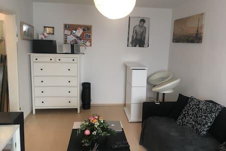 Zentrumsnahe 2 Zimmer Whg. mit kleinem Balkon - Stuttgart - Apartament