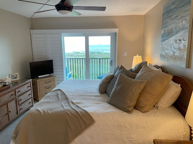 Master BR with beach view