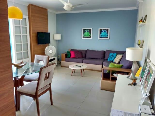 Praia do Forte - 2 quartos a 200 metros da praia! - Cabo Frio - Daire
