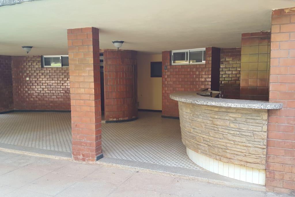 Pool area Bar