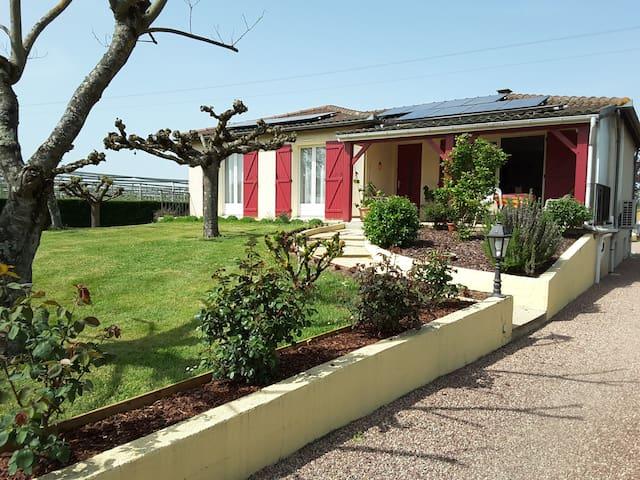 maison avec piscine proche de Bergerac