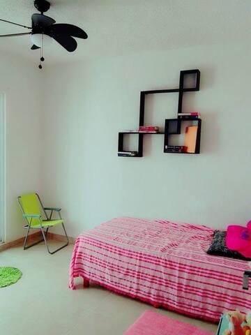 Habitación Privada en PDC - Playa del Carmen - Casa