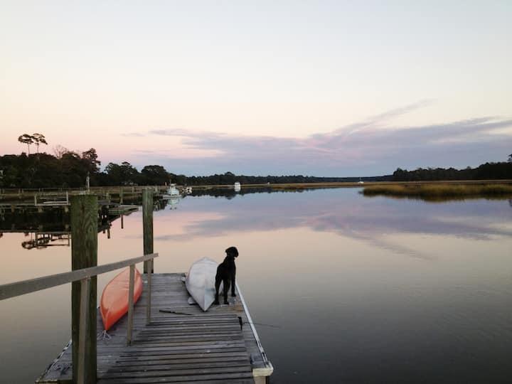 Private House -Deep Water Dock-Near Angel Oak Tree