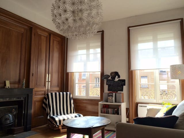 Apartment in the lovely Croix-Rousse (2 bedrooms) - Lyon - Apartemen