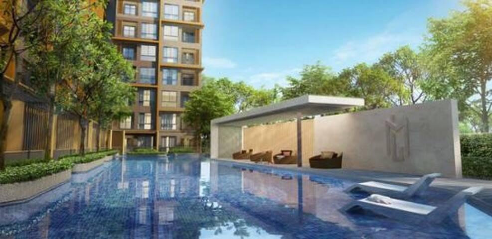 Cozy apartment near DMK airport - Bangkok - Wohnung