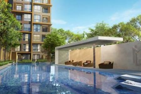 Cozy apartment near DMK airport - Bangkok - Condominium
