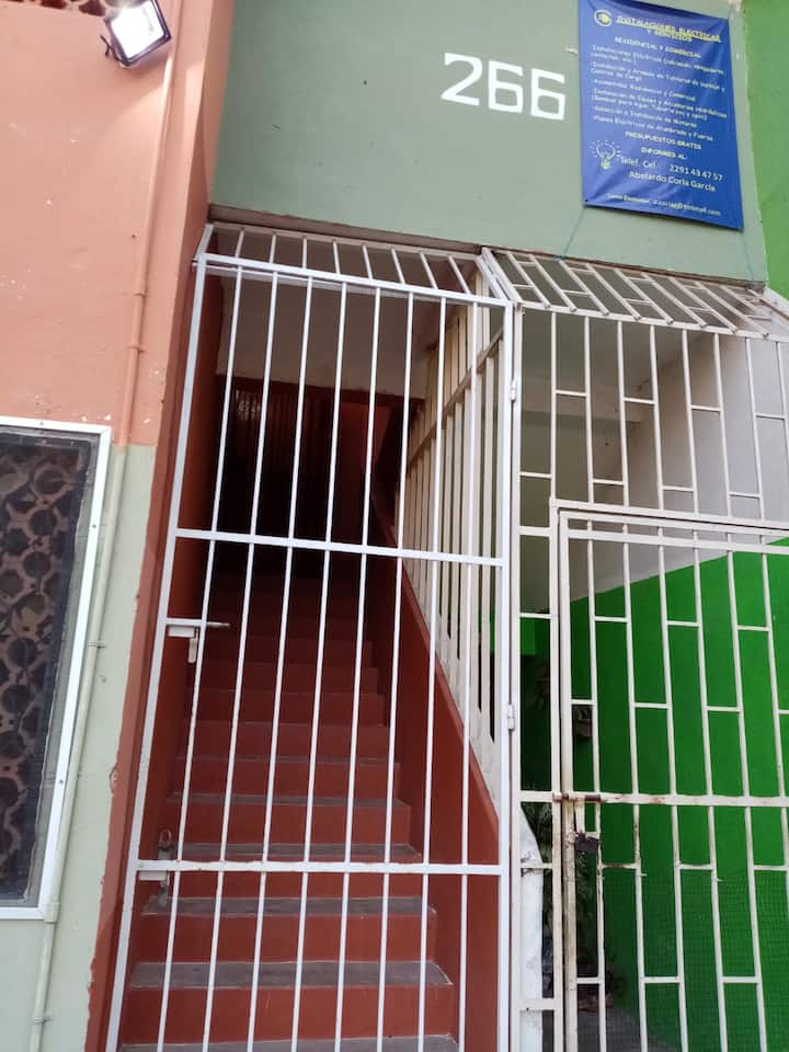 bonito departamento en Veracruz puerto