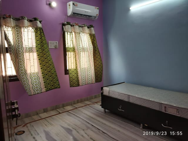 Neat/Clean fully furnished AC 2 BHK with caretaker