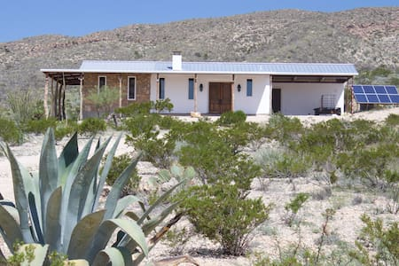Rustic Stech Ranch Home, Off-Grid in Big Bend