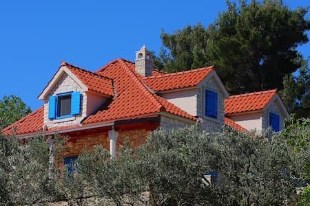 SEASIDE HOUSE & TENNIS COURT 4 U - Splitska - Villa