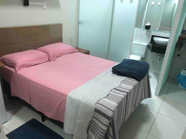 Quarto Suite, muito conforto banheiro privativo @