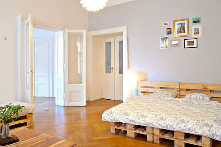 Two Charming Rooms for 5 People in Centre location - Praha - Leilighet