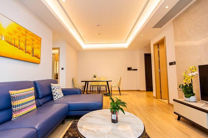 城景豪华两房两厅两卫公寓(127平方)