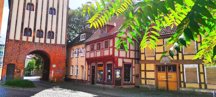 Dachwohnung in Salzwedels historischer Altstadt