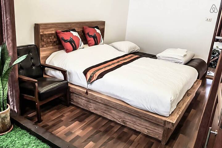 Bedroom #4 - 1 Queen size bed + 1 sofa bed