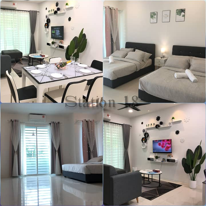 Ipoh Paradise Homestay @ Station 18 (13 Pax) #怡保区