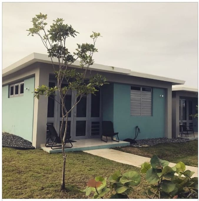 Boqueron sea beach villas huts for rent in cabo rojo for Villas koralina cabo rojo
