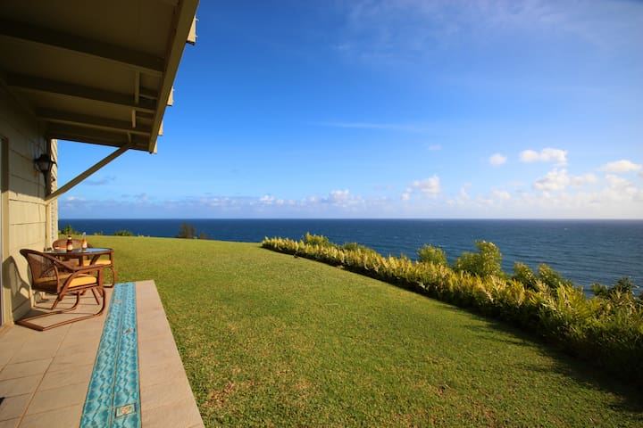 Completely, totally oceanfront stunning VIEWS!!! - Princeville - Condo
